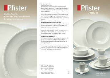 Pfister Artesano
