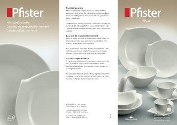 Pfister Flow