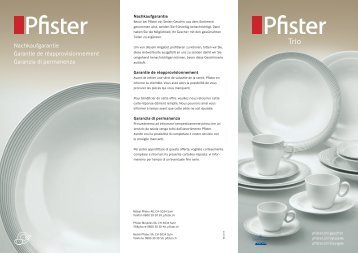 Pfister Trio
