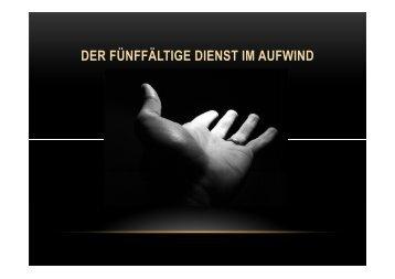 (Microsoft PowerPoint - Der f\374nff\344ltige Dienst im Aufwind.ppt ...
