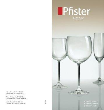 Pfister Natalie-Gläser