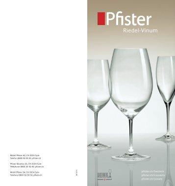 Pfister Riedel-Vinum