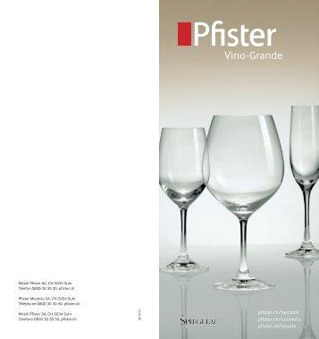 Pfister Vino-Grande