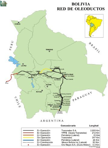 BOLIVIA RED DE OLEODUCTOS - OilProduction.net
