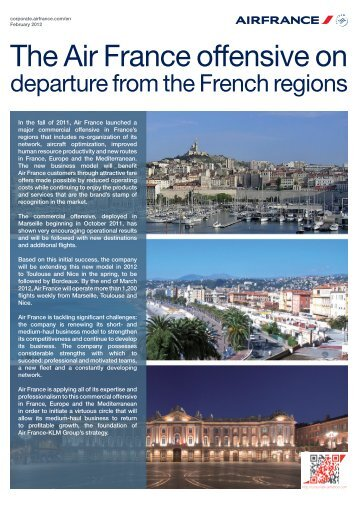 Download the complete press kit in pdf format - Air France