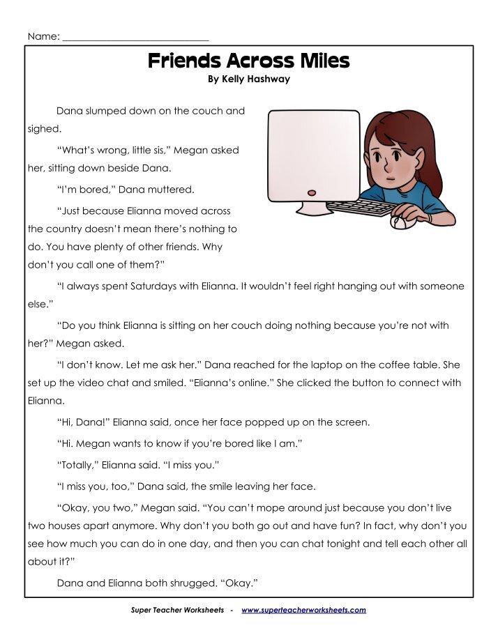 3rd Grade Reading Super Teacher Worksheets 6506126 - laana-pengar.info