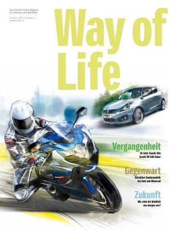 Way of Life Frühling 2014 | Ausgabe 8