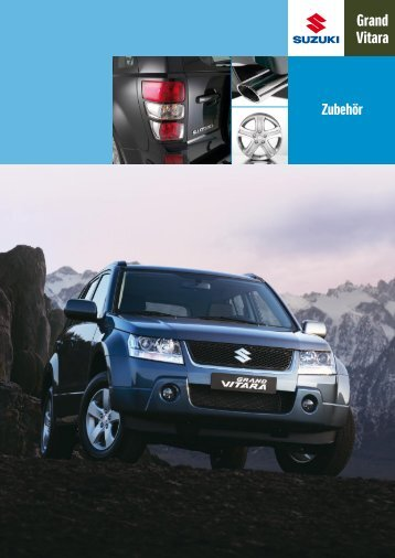Suzuki Grand Vitara Zubehörprospekt