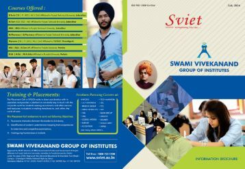 Sm'et - Swami Vivekanand Institute of Engineering & Technology
