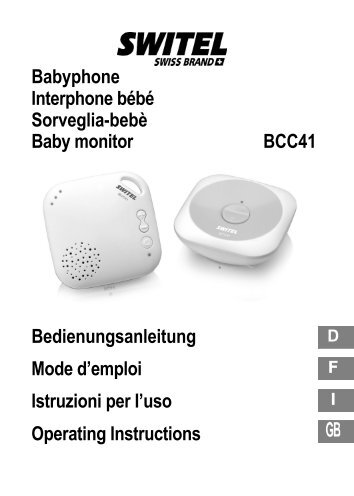 Babyphone инструкция - фото 9