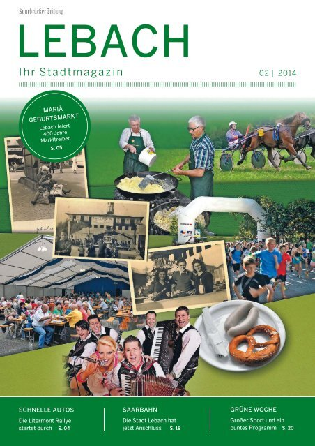 Stadtmagazin Lebach 02|2014