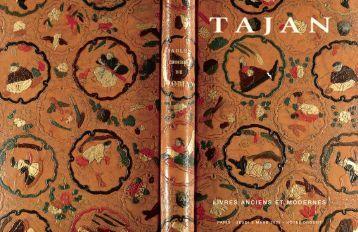 Tajan - Livres anciens et modernes - Vente le 03 mars 2005
