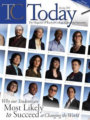 TC Today - Teachers College Columbia University