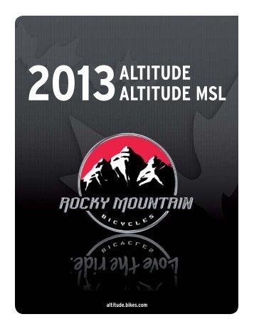 2013 altitude altitude msl - DSB