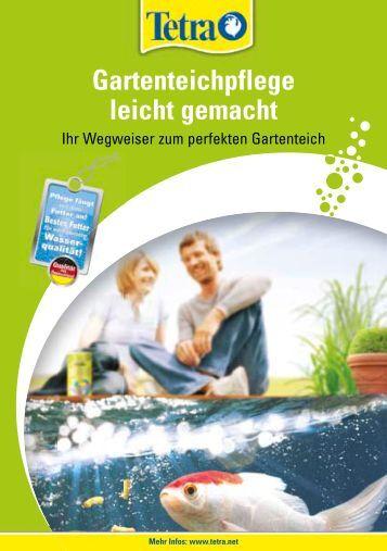 10 free magazines from tetra net for Gartenteichpflege algen