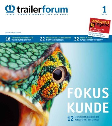 KRONE trailerforum 1-2013