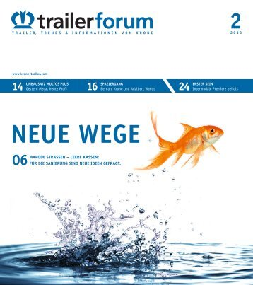 KRONE trailerforum 2-2013