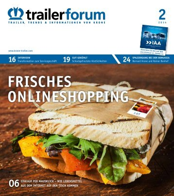 KRONE trailerforum 2-2014