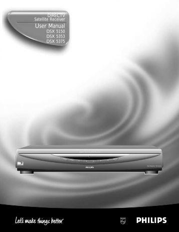 User Manual - DirecTV