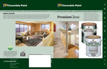 PREMIUM CLASSIC - Cloverdale Paint