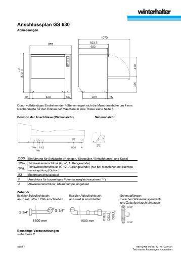 anschlussplan gs 502. Black Bedroom Furniture Sets. Home Design Ideas