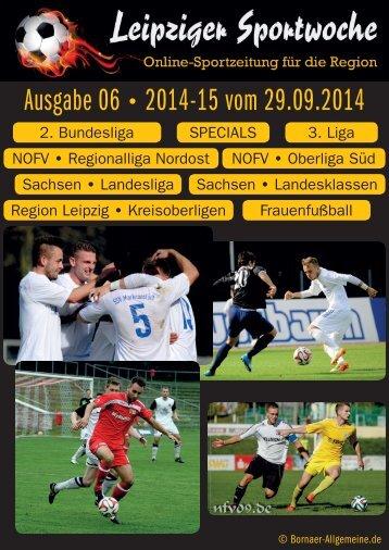 Ausgabe 06 2014-15 vom 29.09.2014