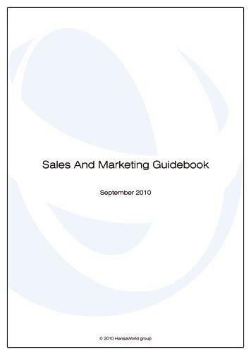 Sales And Marketing Guidebook - HansaWorld
