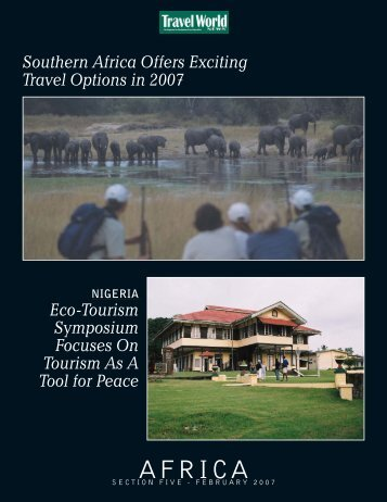 Section 5: Africa Pull-Out Supplement - Travel World News