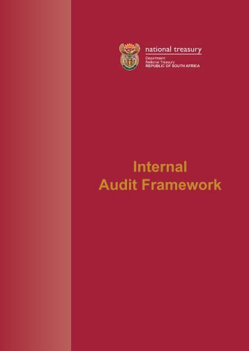 Treasury Internal Audit Framework Revised ... - National Treasury