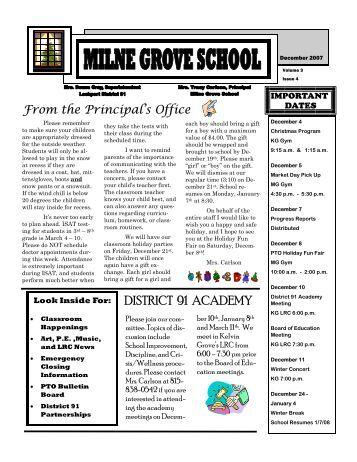 Kelvin Grove Summer 12 Newsletter