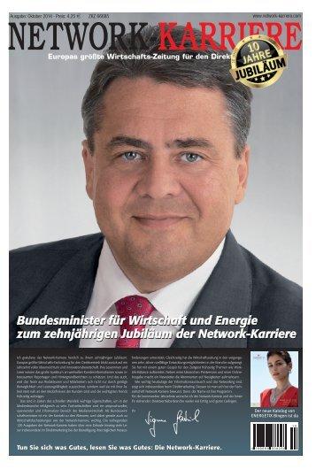 """Network-Karriere / Ausgabe 10/14 - """"10 Jahre"""""""