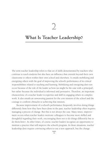 understanding teacher leadership Understanding educational leadership: people, power and culture by hugh busher click here for the lowest price paperback, 9780335217175, 0335217176.