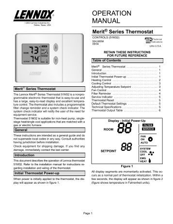 P374-2700 Heat & Cool Heat Pump Non-Programmable