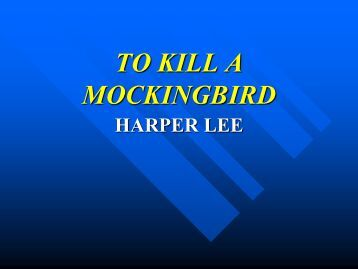 the power of one vs to kill a mockingbird To kill a mockingbird is one of the most heralded american stories of the  twentieth century harper lee's novel won the 1960 pulitzer prize and.