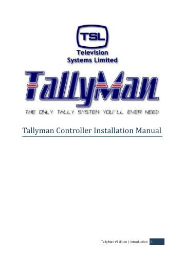 tm1 installation and configuration guide