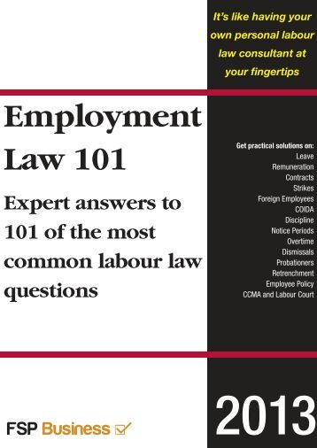 employment law cases When a prospective client contacts our office regarding their employment  discrimination case, they will immediately speak with an attorney through the  use of.