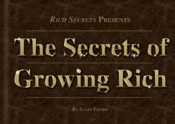 The secrets of growing rich - Fleet Street Publications