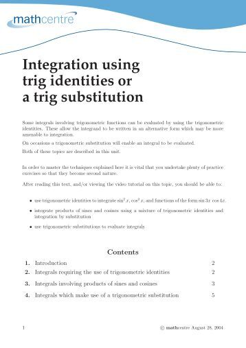 Proving Trig Identities Worksheet B Use the Reciprocal, Quotient ...