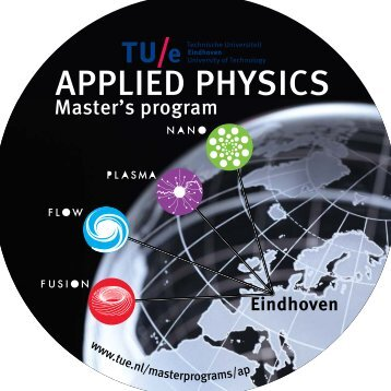 Focal areas Applied Physics