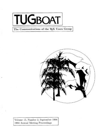 Complete issue 15:3 as one pdf (7mb) - TUG