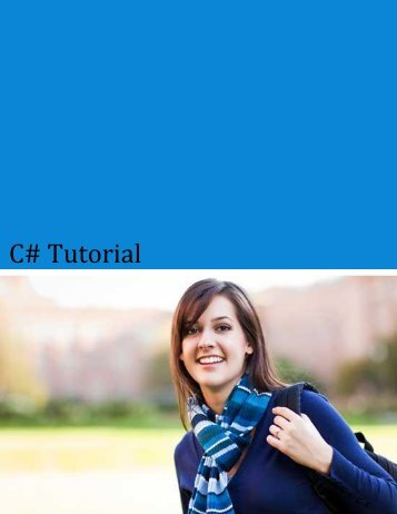 Download C# Tutorial (PDF Version) - Tutorials Point