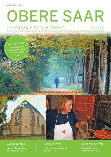 Gemeindemagazin Obere Saar 02|2014