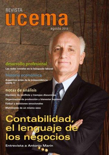 Contabilidad, el lenguaje de los negocios - Universidad del CEMA