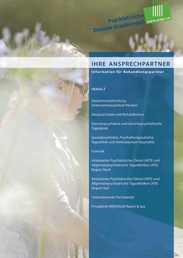 Ansprechpartner Psychiatrische Dienste Graubünden