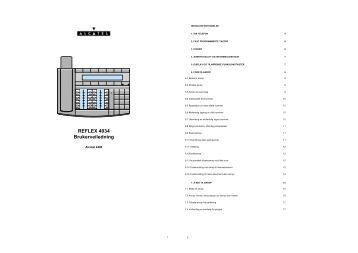 Alcatel 4018-4019 No Guide