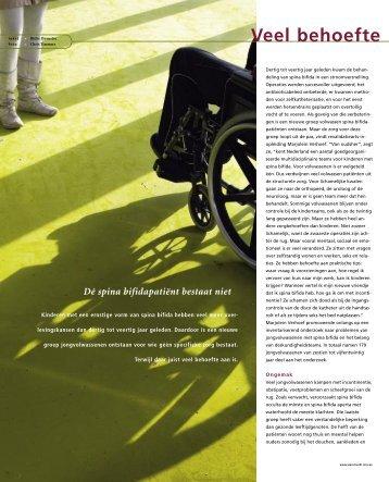 Veel behoefte aan ongevraagde zorg - UMC Utrecht