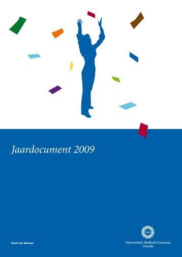Jaardocument 2009 - UMC Utrecht