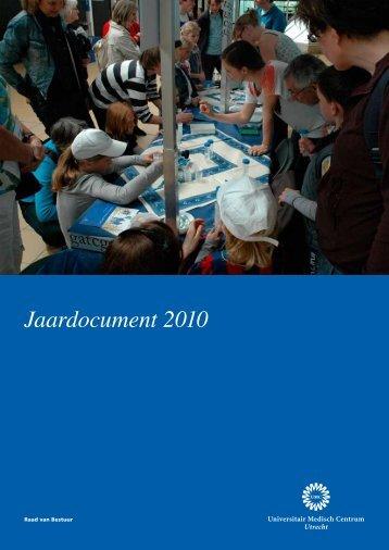 Jaardocument 2010 - UMC Utrecht