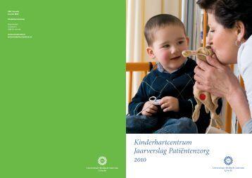 Jaarverslag Kinderhartcentrum WKZ UMC Utrecht