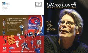 Spring 2013 - University of Massachusetts Lowell